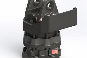 hydraulický rotátor pre hydraulickú ruku